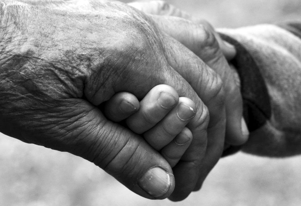 Arthritis Hands Holding Hands