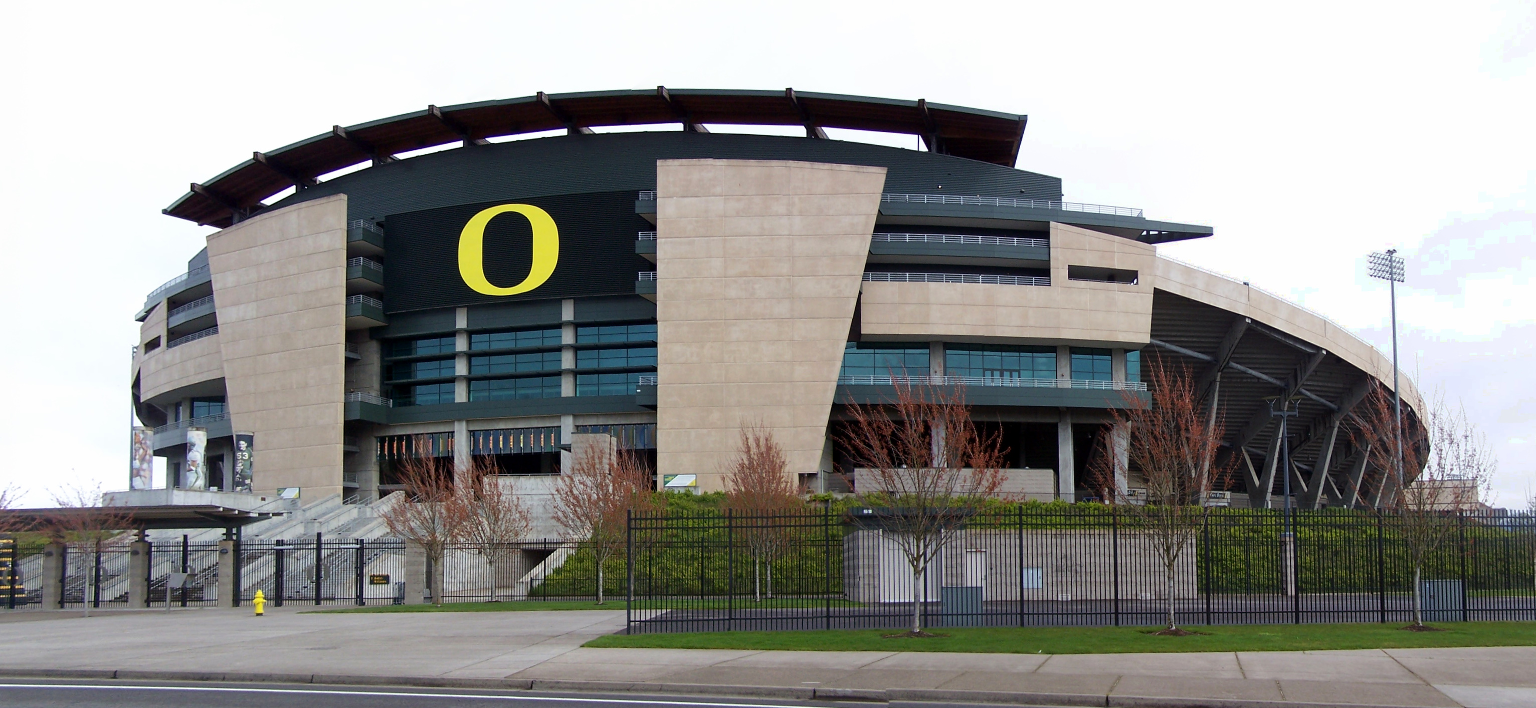 Autzen Stadium Football Tailgate